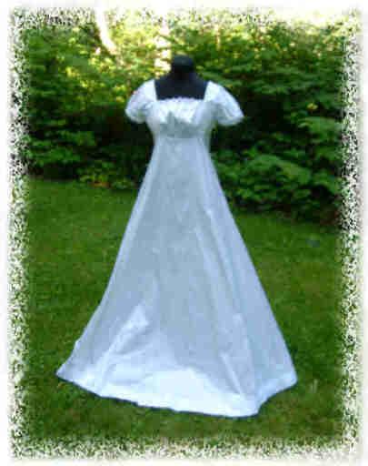 Regency Wedding Gown