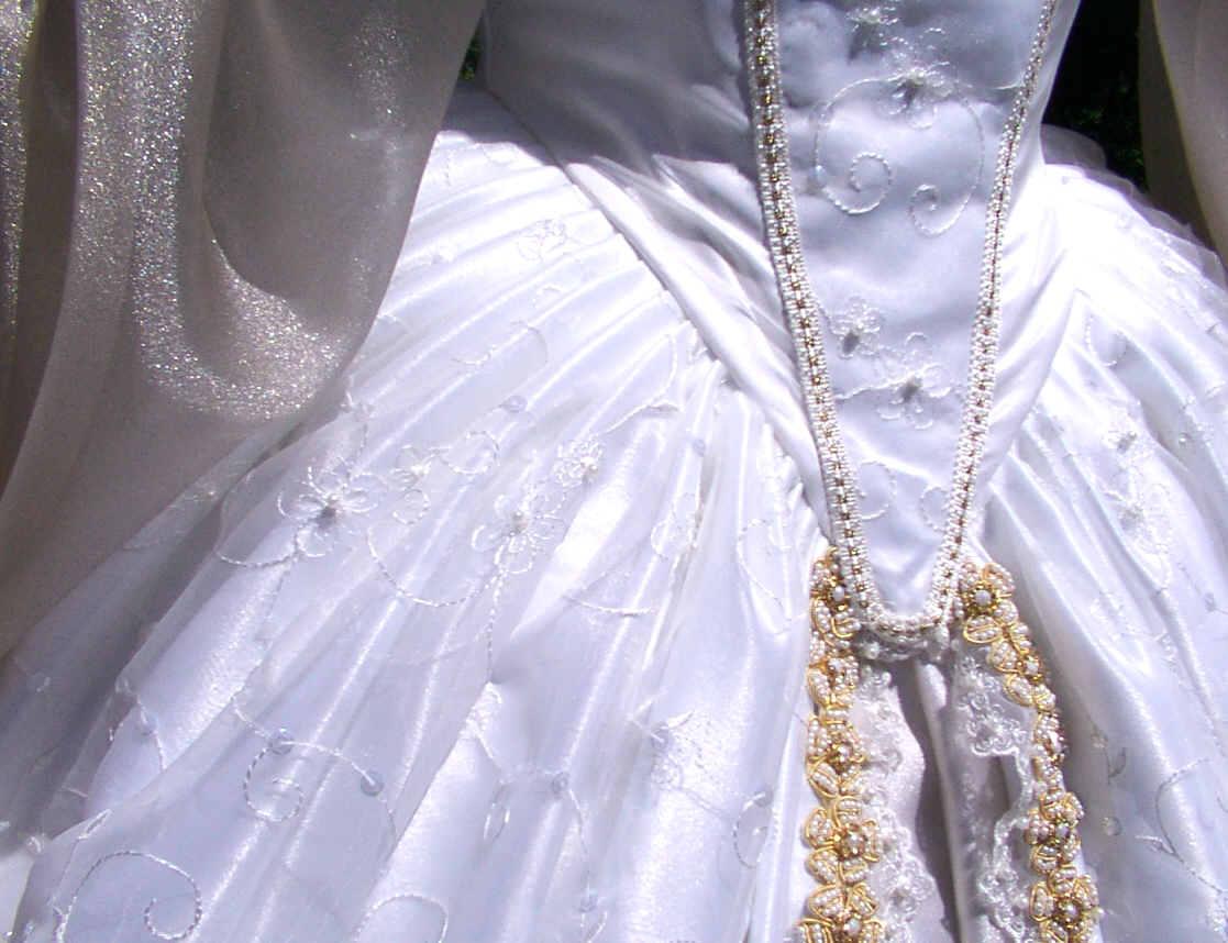 Classic Tudor Wedding Gown