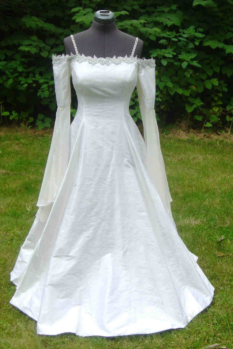 elven wedding gown