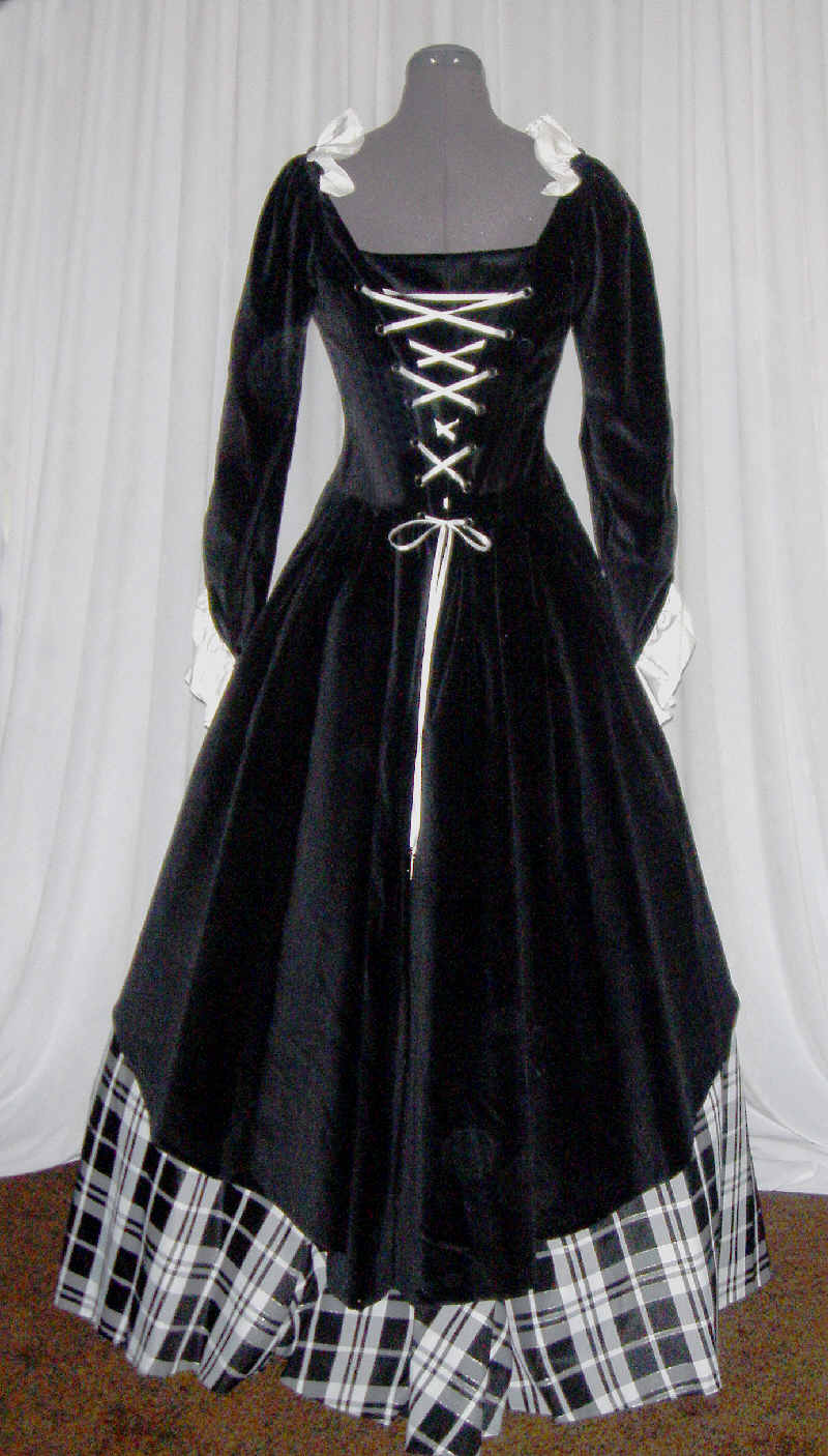 Scottish Wedding Gown